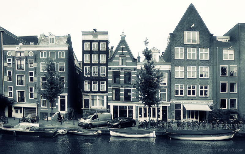 Some Houses by the canal