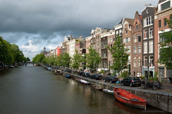 Houses by the Singel