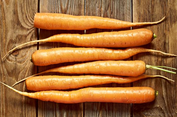 I see carrots