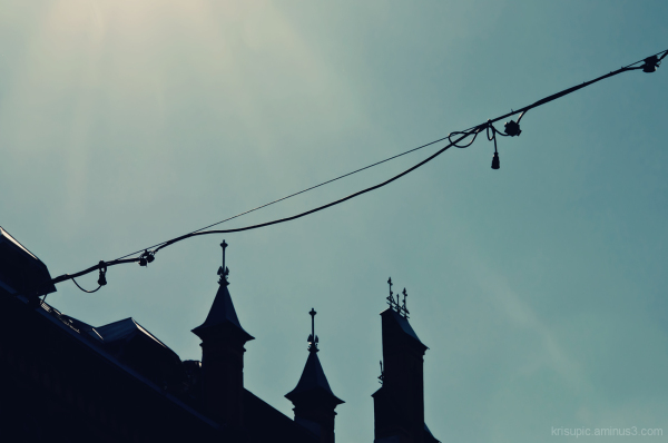 silhouette – roof