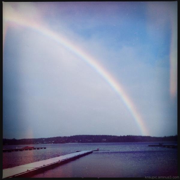 rainbow. in November?