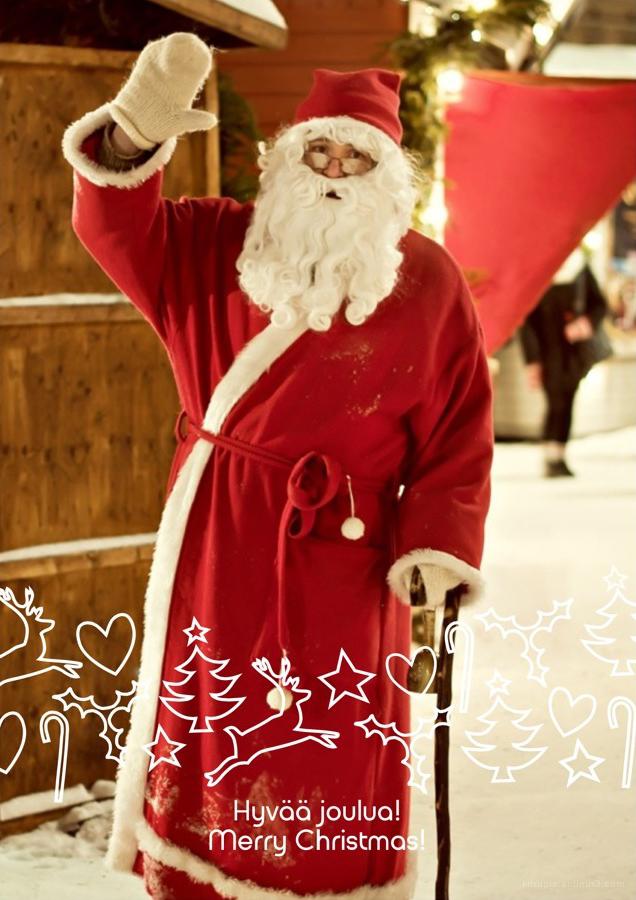 Santa • Joulupukki