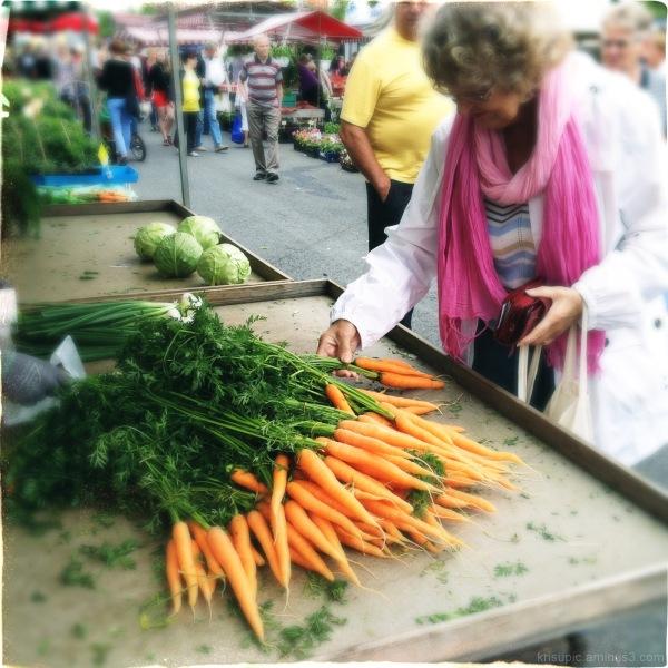 fresh from the farmer's market