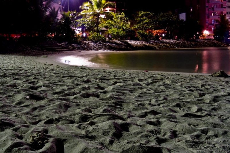 artificial beach