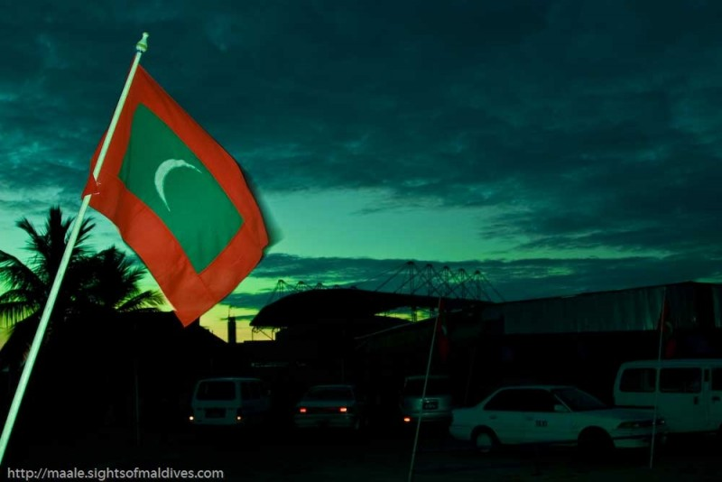 flag - maldives