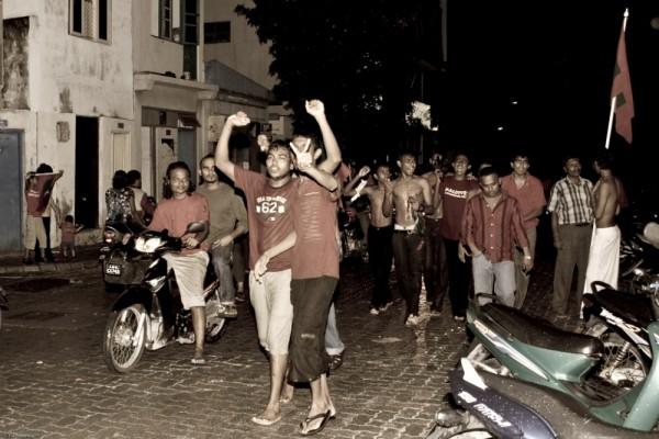 SAFF Champions 2008 Celebrates