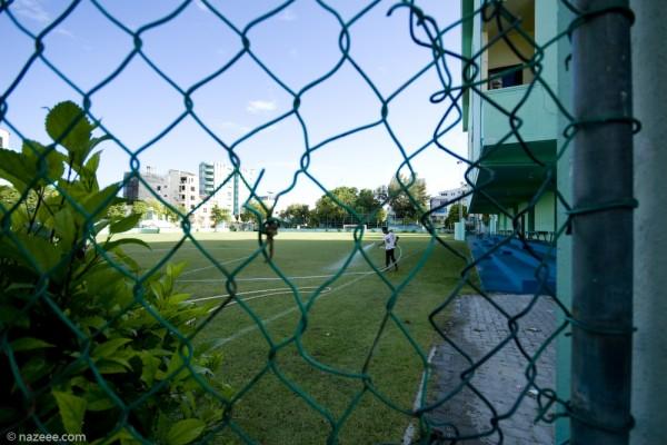 Heveiru football grounds