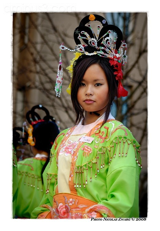 Colorful Portrait, chinese new year of the Rat