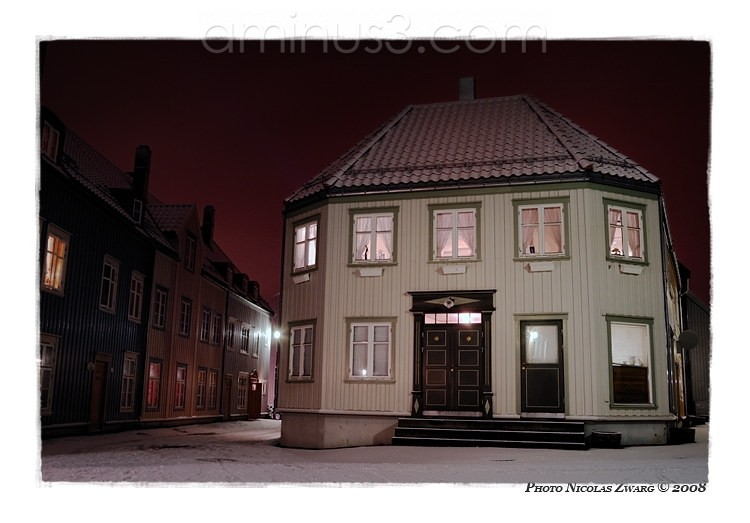 Like a Doll house in Trondheim, Norway