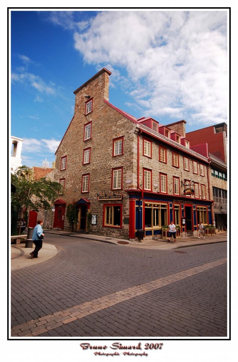 Vieux Québec en été