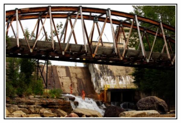 Vieux pont à Chutes aux Galets - Falardeau QC