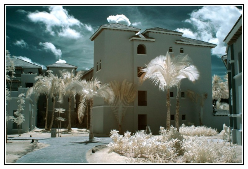 Punta Cana `;a l'infrarouge