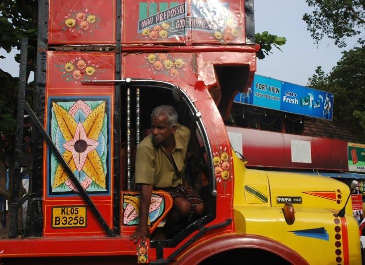 Truck Driver Fort Kochi Kerela South India
