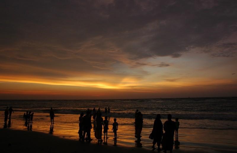 Sunset Fort Kochi Beach Kerela South India