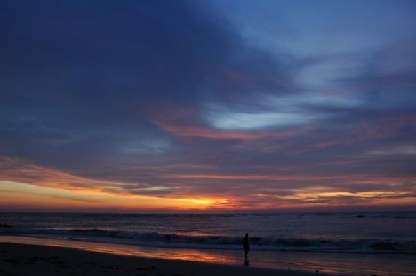 Tropical Sunset Fort Kochi Beach Kerela India