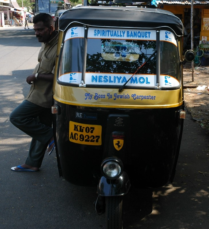 Autorickshaw Driver Fort Kochi Kerela South India