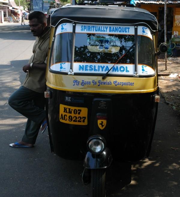 Autorickshaw Driver Fort Kochi Kerela South India