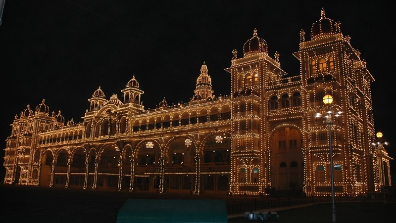 Maharajahs Palace Mysore Karnataka South India