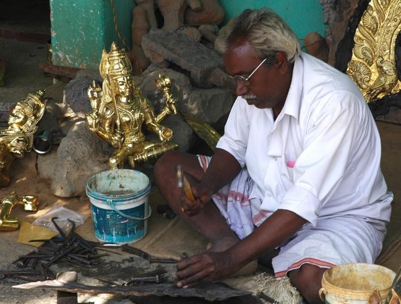 Brassworker Bangalore Karnataka South India
