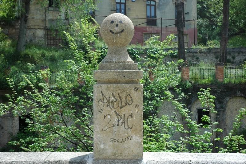 Graffiti Granada Andalusia Spain
