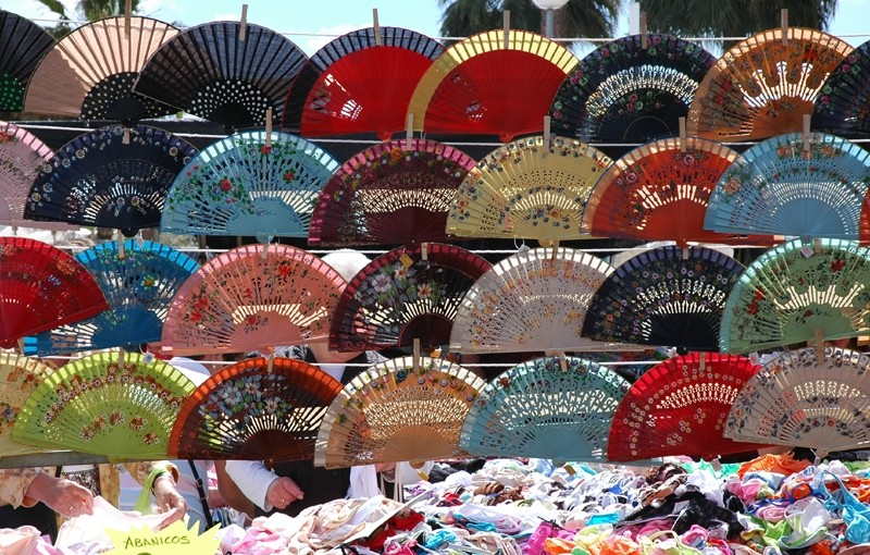Fans Torrox Market Andalusia Spain