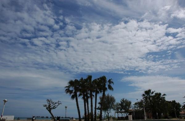 Beach at Torre del Mar Andalusia Spain