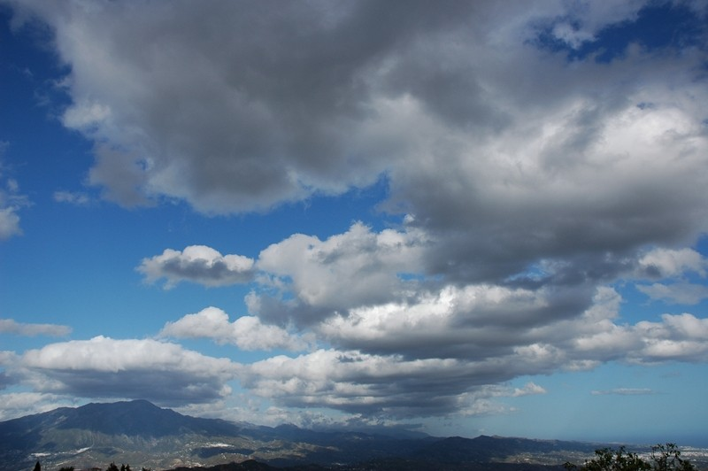 Clouds Maroma Axarquia Andalusia Spain