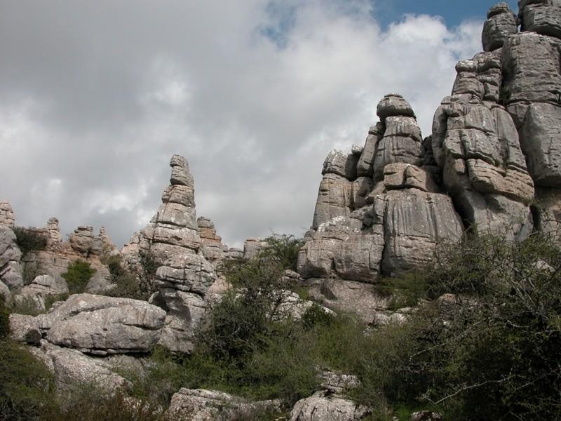 Torcal Limestone Andalusia Spain