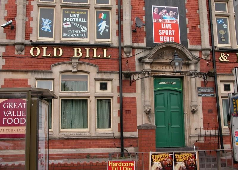 Old Bill Pub Police Station Birmingham UK