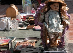Doll Fuengirola Market Andalusia Spain