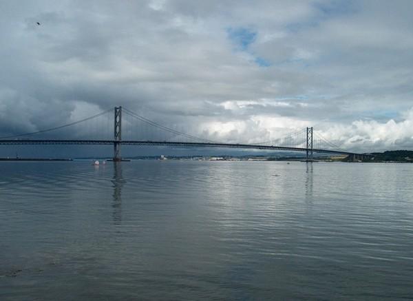Forth Road Bridge Scotland UK