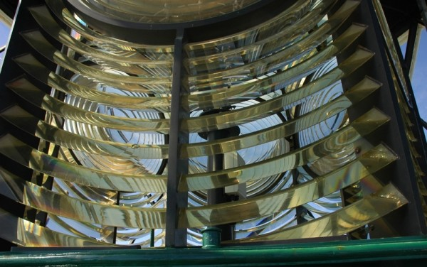 Lighthouse Lens South Stack Anglesey Wales