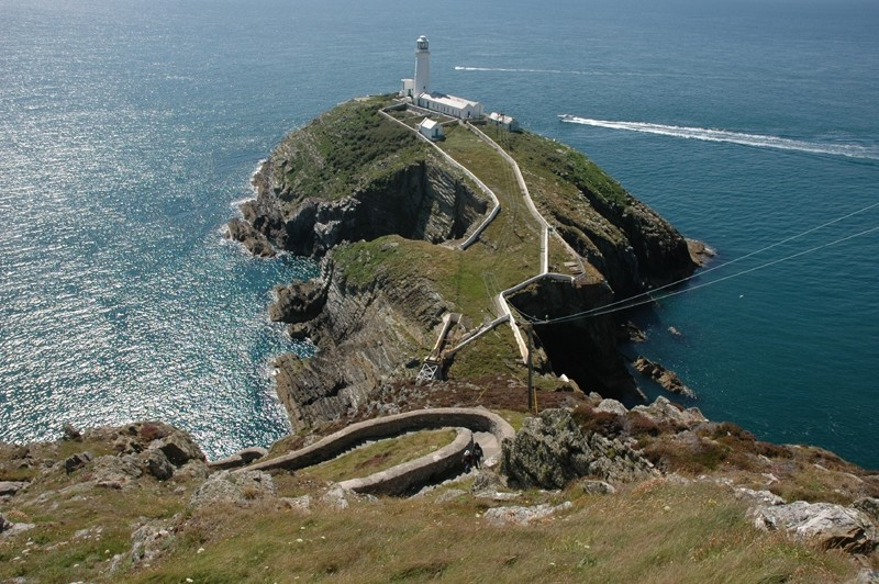 South Stack Lighthouse Anglesey Wales