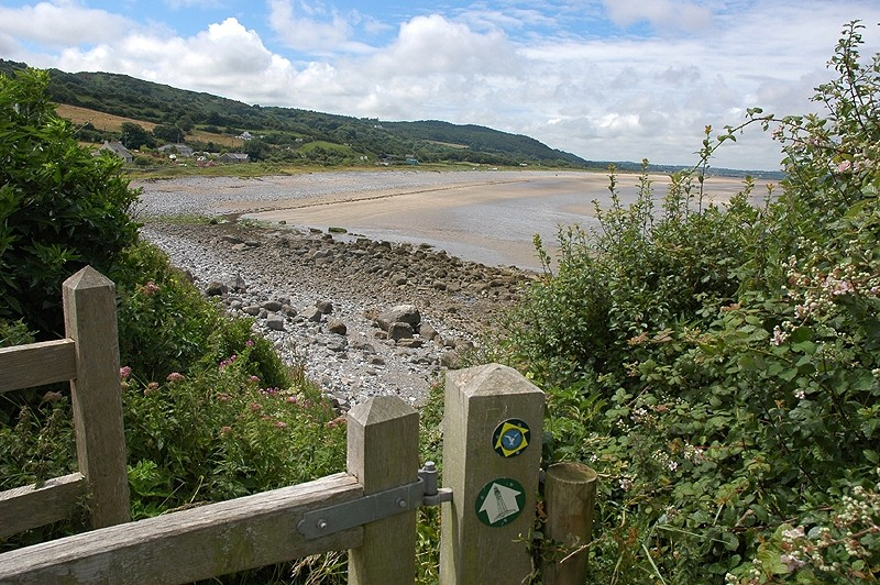 Coast Path Red Wharf Bay Anglesey Wales