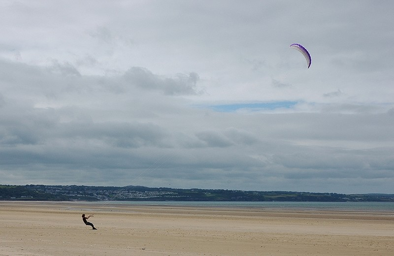 Kite Flying Red Wharf Bay Anglesey Wales