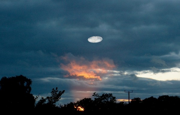 UFO Herefordshire UK