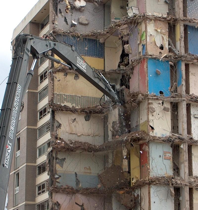 Demolition Birmingham UK