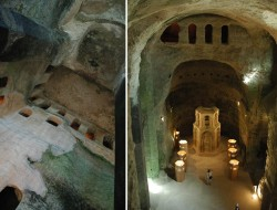 Monolithic Church of St Jean Aubeterre Dordogne Fr
