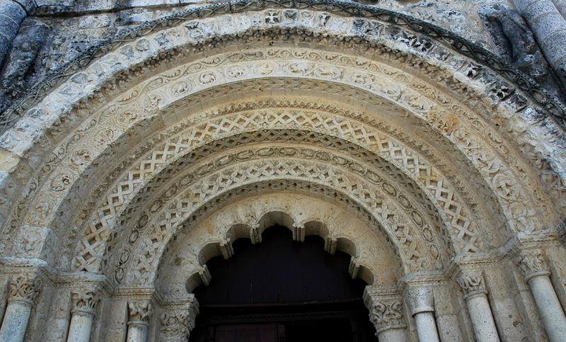 Romanesque Church Chalais Charente France