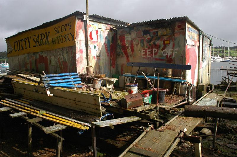 Falmouth Docks Cornwall UK