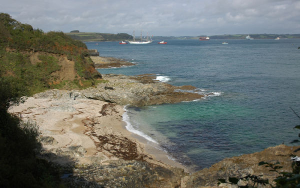 Pendennis Point Falmouth Cornwall UK