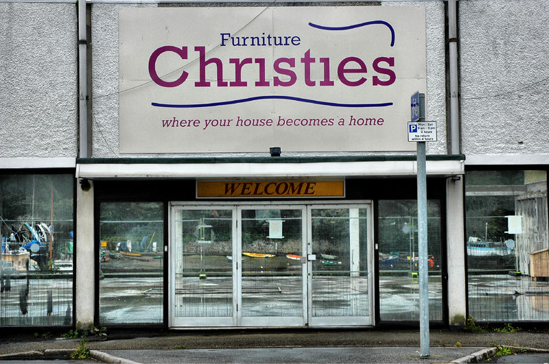 Penryn Shopfront Cornwall UK