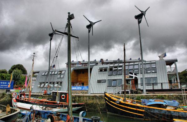 Eco Housing Penryn Cornwall UK