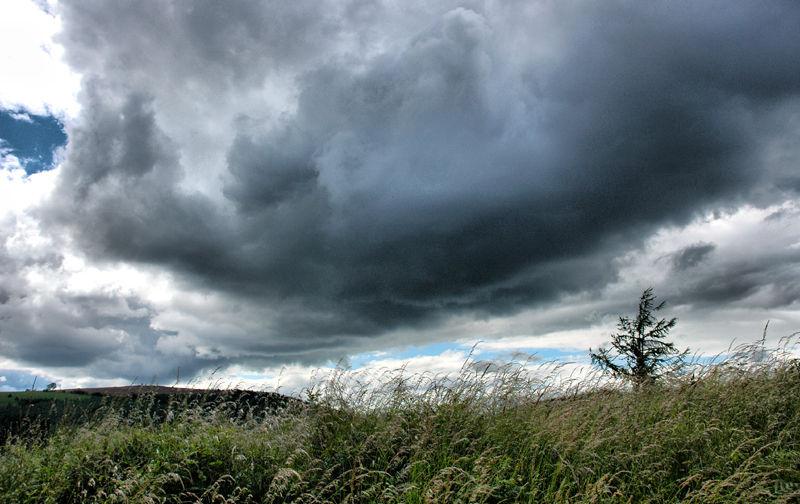 Clouds Mortimer Forest Shropshire UK