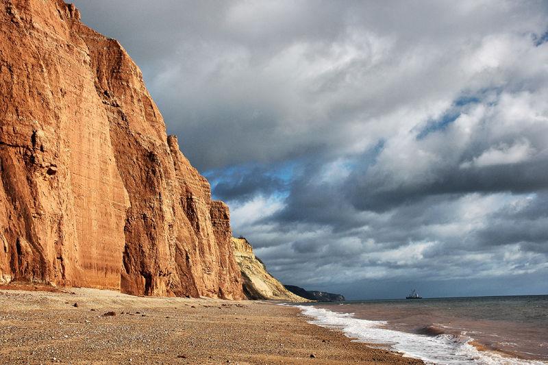 Branscombe Bay Sidmouth Dorset UK