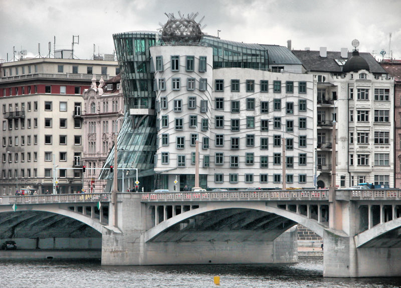 The Dancing Building Prague by Frank Gehry