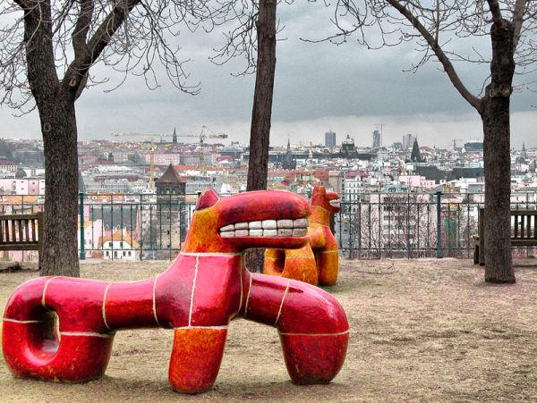 Chidren's playground Prague