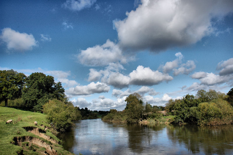 River Severn South of Bridgenorth UK