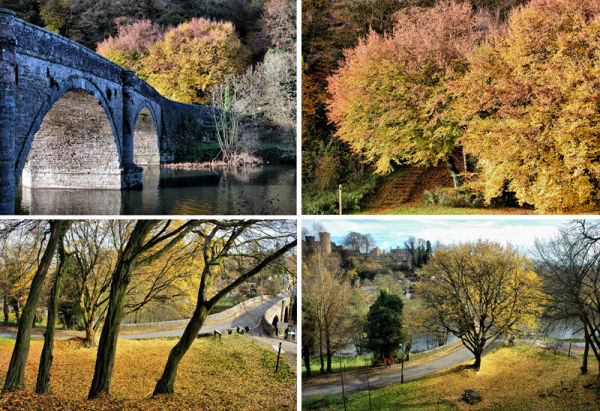 Ludlow Dinham Bridge Shropshire UK