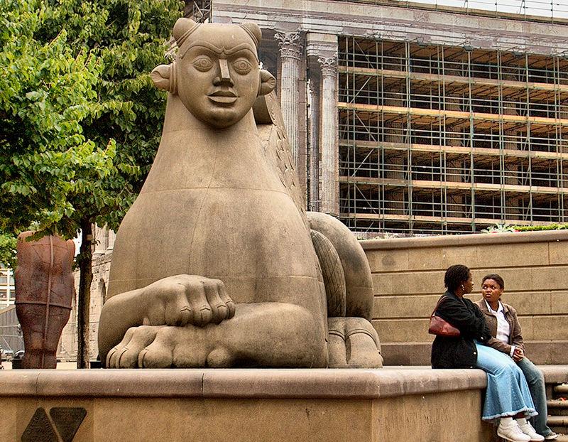 Sphinx Victoria Square Birmingham UK